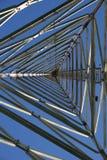Auf dem Kontrollturm in Berlin Stockfotografie