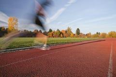 Auf dem Lack-Läufer Stockfotografie