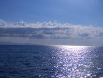 Auf dem Meer Stockbild