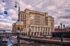 Auf dem Roten Platz Moskau 2 Stockfotografie