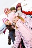Auf dem Schnee lizenzfreie stockfotografie