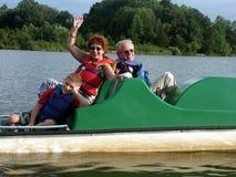 Auf dem See Lizenzfreies Stockfoto