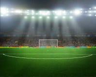 Auf dem Stadion lizenzfreies stockbild