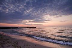 Auf dem Strand Stockfoto