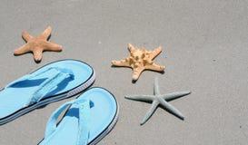 Auf dem Strand Lizenzfreies Stockbild