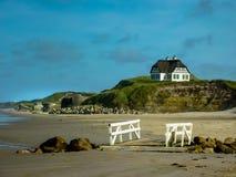 Auf dem Strand lizenzfreies stockfoto