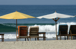 Auf dem Strand - Mexiko Lizenzfreie Stockfotografie