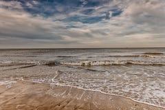 Auf dem Strand wieder Stockfotografie
