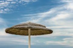 Auf dem Strandfeiertagskonzept Stockbild