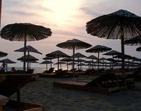 Auf dem Strandfeiertagskonzept Lizenzfreies Stockfoto