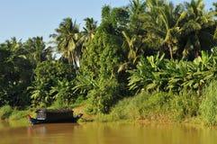 Auf dem tonle Saft in Kambodscha Lizenzfreies Stockbild