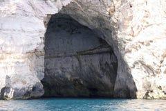 Auf dem Weg zur blauen Grotte Stockfotos