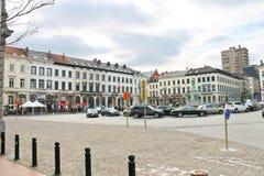 Auf den Straßen in Brüssel, Belgien Lizenzfreies Stockfoto