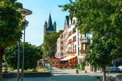 Auf den Straßen von Cologne Lizenzfreie Stockfotos