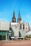 Auf den Straßen von Cologne Stockfotos