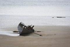 Auf den Strand gesetztes Wrack Lizenzfreie Stockfotografie