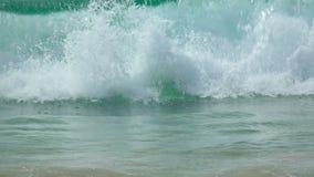 Auf den Wellen stock video footage