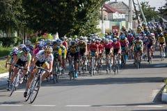Auf der 3. Stufe des internationalen Radfahrens Lizenzfreie Stockbilder