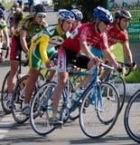 Auf der 3. Stufe des internationalen Radfahrens Lizenzfreie Stockfotos