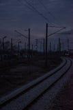 Auf der Bahn lizenzfreie stockfotografie