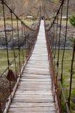 Auf der Brücke. Lizenzfreie Stockfotografie