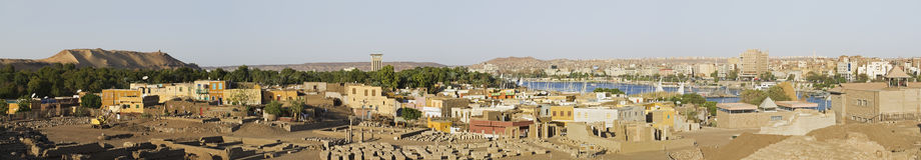 Auf der elefantenartigen Insel in Ägypten Lizenzfreie Stockfotografie