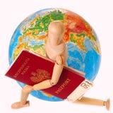 Auf der ganzen Erde reisen Stockbilder