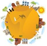 Auf der ganzen Welt (Arabien) Stockfotos