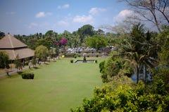 Auf der Insel guten Wetters Balis immer! Stockbild