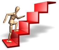 Auf der Methode zum Erfolg Lizenzfreie Stockbilder