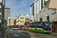 Auf der Straße in Chinatown Kuala Lumpur Stockfotografie