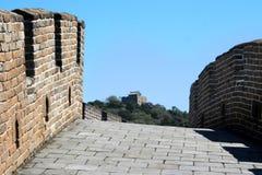 Auf der Straße Chinesische Mauer des Porzellans Stockbilder