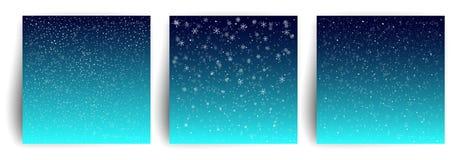 auf der Straße Stellen Sie von der Weihnachtsgruß-Kartenentwurfsschablone für Flieger, Fahne, Einladung, Glückwunsch ein Weihnach vektor abbildung