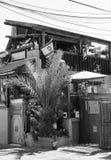 Auf der Straße von altem Tel Aviv, Israel Stockbilder
