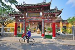 Auf der Straße von Hoi An, Vietnam Lizenzfreies Stockfoto