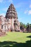 Auf der Straße zu Angkor: Phimai-Tempel - Thailand stockbilder