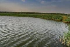 Auf der Ufergegend genannt Haluky lizenzfreies stockfoto