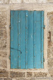 Auf der Wand Stockbild