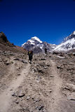 Aconcagua-Spur Stockfoto