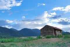 Auf die Bergkuppe Lizenzfreies Stockbild