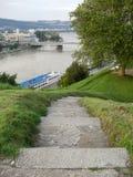 Auf die Oberseite von Linz Lizenzfreies Stockbild