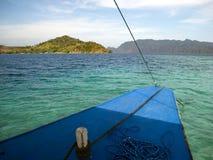 Auf einem Boot Lizenzfreie Stockbilder