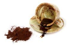 Auf einem Kaffee dick schätzen Lizenzfreie Stockbilder
