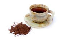 Auf einem Kaffee dick schätzen Lizenzfreies Stockfoto