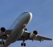 Auf Endanflug lizenzfreies stockfoto