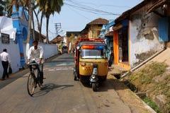 Auf indischer Straße Stockbilder
