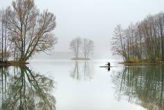 Auf kaltem Wasser Lizenzfreie Stockfotografie