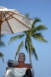 Auf karibischen Ferien Stockbild
