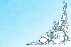 Auf lagerabbildung des Ostern-Konzeptes Lizenzfreies Stockfoto