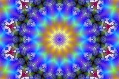 Auf lagerbild des binärer Code-Kaleidoskops Lizenzfreie Stockfotografie